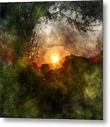 Edens Sunrise Metal Print
