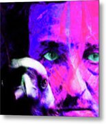 Edgar Allan Poe The Eyes Of The Ravens 20160430 V3 M88 Metal Print