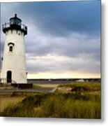Edgartown Lighthouse Cape Cod Metal Print