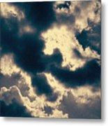Edgewater Skies Metal Print