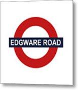 Edgware Road Metal Print