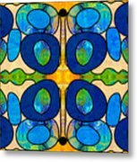 Edible Extremes Abstract Bliss Art By Omashte Metal Print