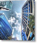 Edificios De Caracas Metal Print