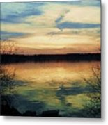 Edinboro Lake Nocturne No.3 Metal Print