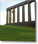 Edinburgh - Caption Hill Metal Print