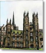 Edinburgh Architecture 3 Metal Print
