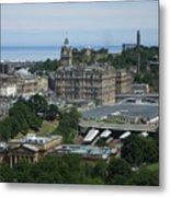 Edinburgh Castle View #3 Metal Print