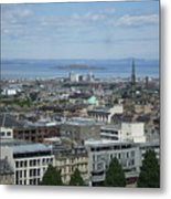 Edinburgh Castle View #5 Metal Print