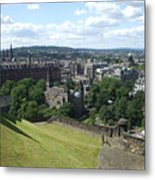 Edinburgh Castle View #6 Metal Print