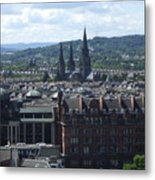 Edinburgh Castle View #8 Metal Print