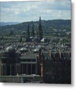 Edinburgh Castle View #9 Metal Print