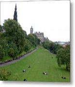 Edinburgh Park  Metal Print