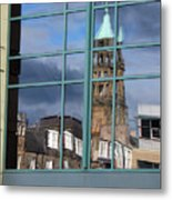Edinburgh Self Interpreted  Metal Print