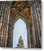 Edinburgh Sir Walter Scott Monument Metal Print
