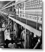 Edison Sault Power Plant At Sault Ste Metal Print