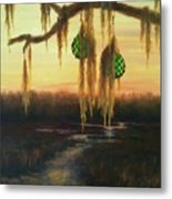 Edisto Island Glass Floats Metal Print