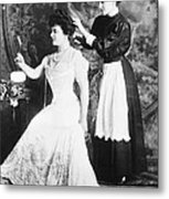 Edith M. Kingdon (1864-1921) Metal Print
