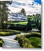 Edith Wharton Mansion Metal Print