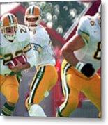 Edmonton Eskimos Football - Blake Marshall - 1988 Metal Print