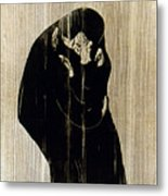 Edvard Munch: The Kiss Metal Print