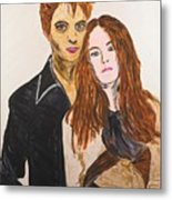 Edward And Bella Metal Print