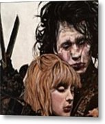 Edward And Kim Metal Print