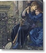 Edward Burne-jones, Love Among The Ruins, 1894 Metal Print