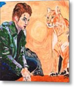 Edward Cullen And His Diet Metal Print