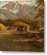 Edward Hill 1843-1923 Adamsons Ranch, Utah Metal Print