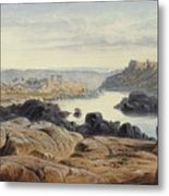 Edward Lear 1812 - 1888 British Philae Metal Print