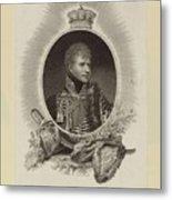 Edward Scriven 1775-1841 His Royal Highness The Duke Of Cumberland. 1807 Metal Print