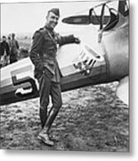 Edward V. Rickenbacker Metal Print