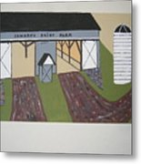 Edwards Dairy Farm Metal Print