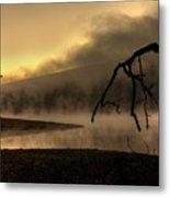 Eerie Dawn Metal Print by Lori Deiter