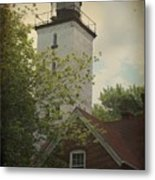 Erie Lighthouse 1872 Metal Print