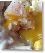 Egg And Gravy Metal Print