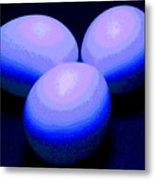 Egg Lights II Metal Print