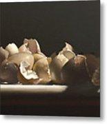 Egg With Shells No.3 Metal Print