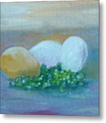 Eggs And Capers Metal Print
