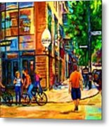 Eggspectation Cafe On Esplanade Metal Print