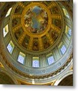 Eglise Du Dome Church Paris Metal Print