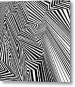 Egnirf Metal Print