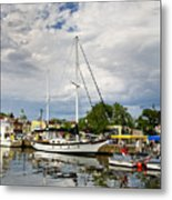 Ego Alley Annapolis Maryland Metal Print