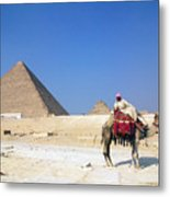 Egypt - Pyramid Metal Print
