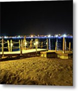 Egypt At Night Metal Print