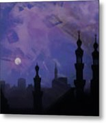 Egypt Mosque  Metal Print