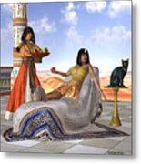 Egyptian Cleopatra Metal Print