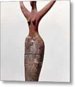 Egyptian Figure Metal Print