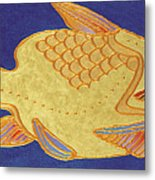 Egyptian Fish Metal Print by Bob Coonts