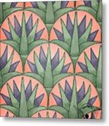 Egyptian Floral Metal Print